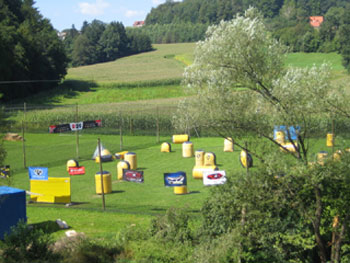 Paintball-Pilot: Spielfeld-Details: Pirching a.T.: PSV Paintballparadise