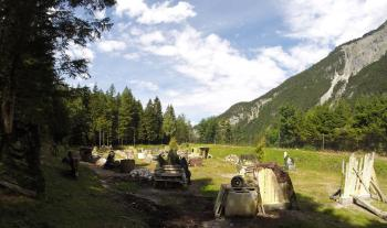Paintball-Pilot: Spielfeld-Details: Scharnitz: Paintball Tirol
